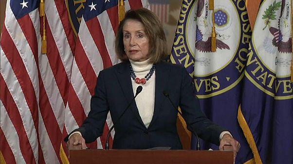 Donald Trump cancela un viaje oficial de la demócrata Pelosi, presidenta de la Cámara Baja