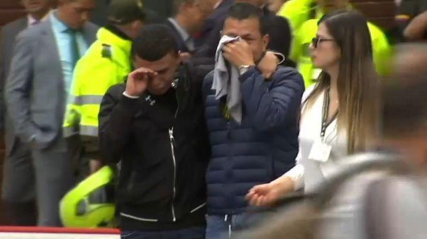 Aumenta a 21 la cifra de muertos en el atentado con coche bomba en Bogotá