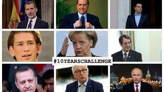 #10yearchallenge: Wie erging es den Staats- und Regierungschefs der EU in den letzten zehn Jahren?