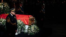 Murdered Polish mayor's body lies in state at solidarity museum