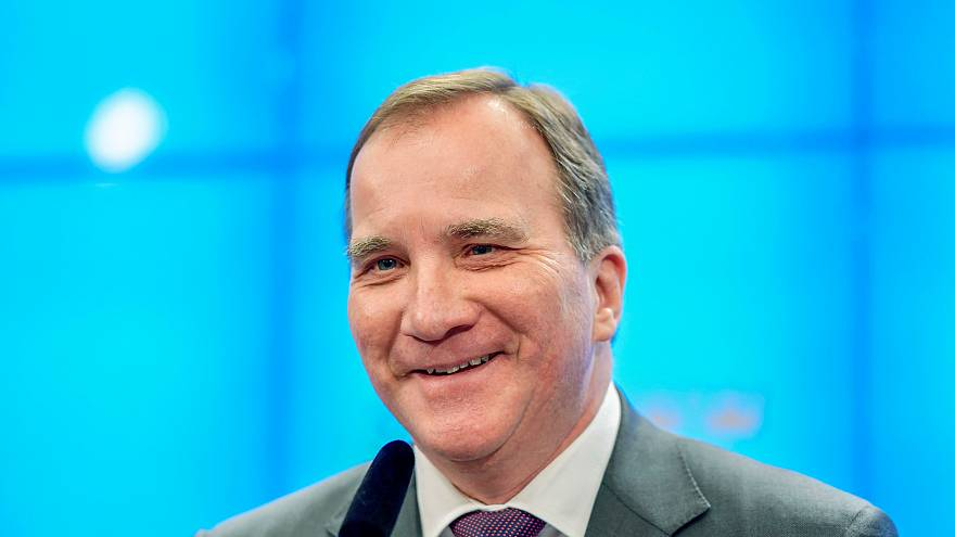 Swedish Prime Minister Stefan Lofven reelected for second term