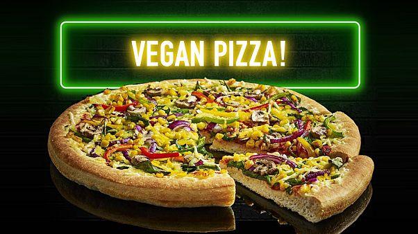 Pizza zincirinin vegan çeşidi iki haftadan kısa sürede 10 bin sipariş aldı