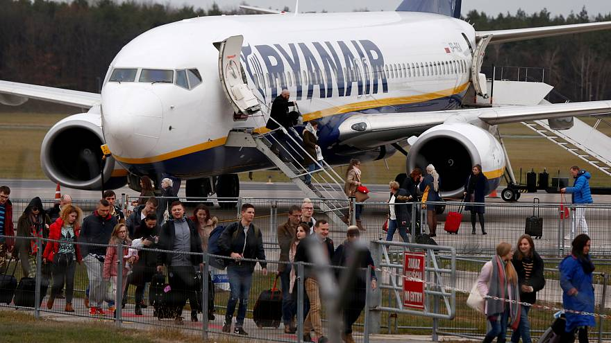 Ryanair-Gewinn im Sinkflug