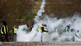 Photo pretexte, manifestation à Nantes, 22 décembre 2018