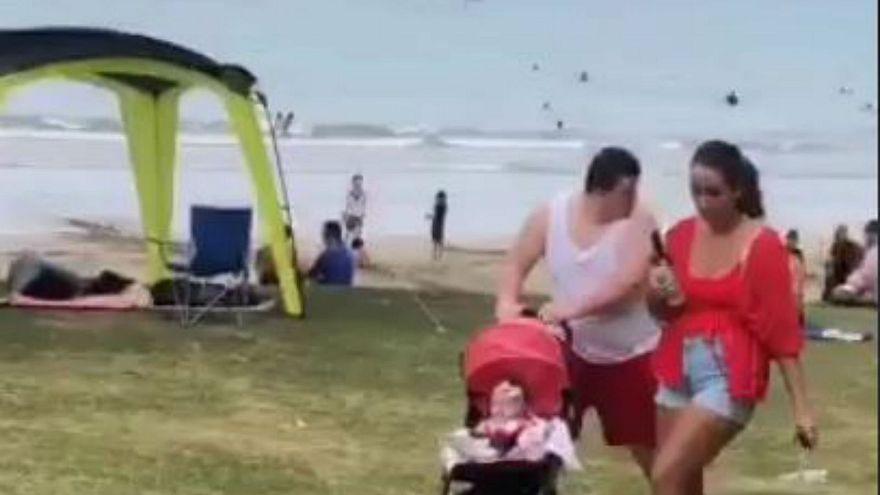 """""""Domuzdan daha beter"""" denilen İngiliz turist aile Yeni Zelanda'dan sınır dışı edilecek"""