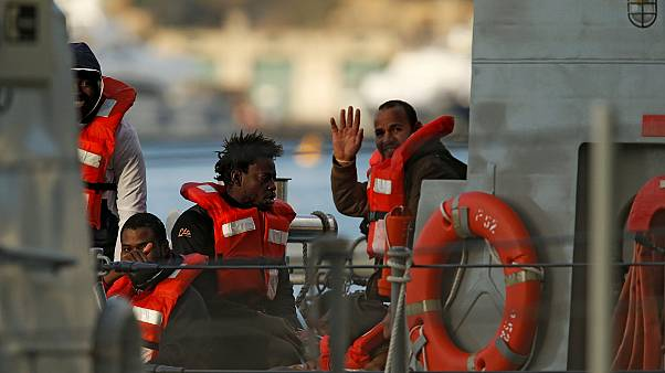 NGO migrant rescue ships Sea-Watch 3