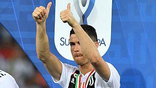 Cristiano Ronaldo a contas com o fisco espanhol