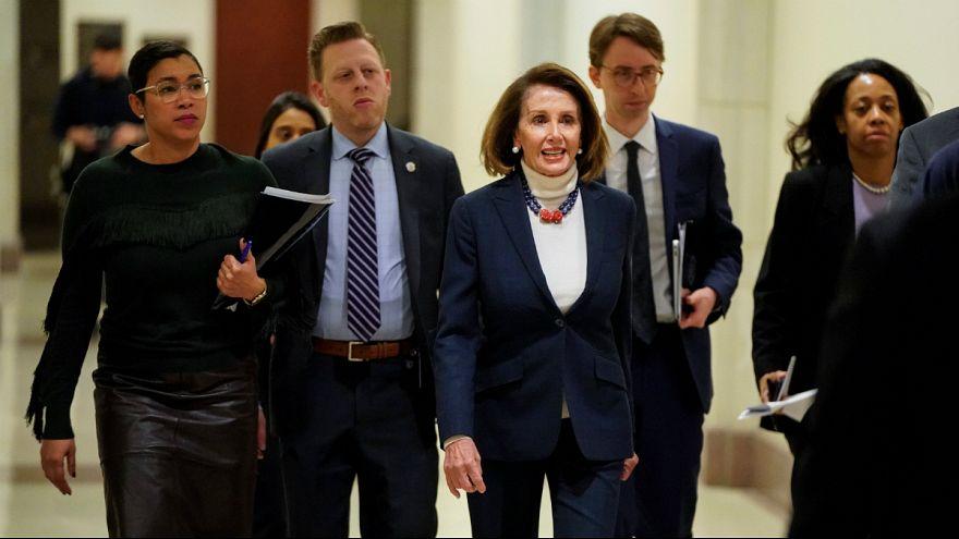 رئیس مجلس نمایندگان ترامپ را به لو دادن اطلاعات سفر نانسی پلوسی متهم کرد