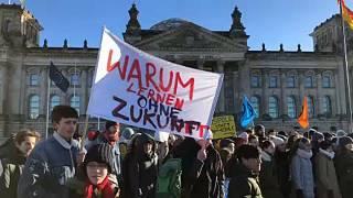 A klímaváltozás ellen tüntettek diákok