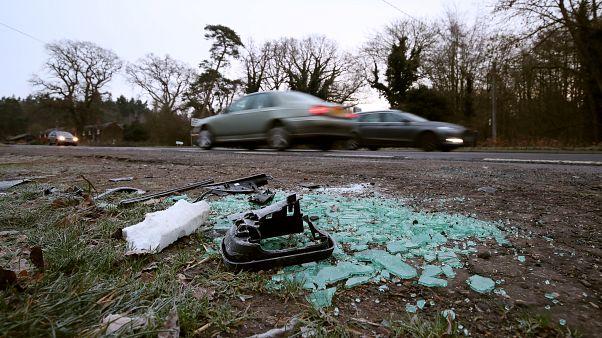 شاهد: سيارة الأمير فيليب بعد الحادث الذي تعرض له