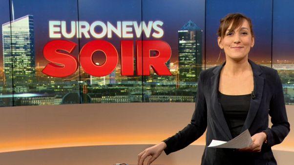Euronews Soir : l'essentiel de l'actualité du 18 janvier 2019