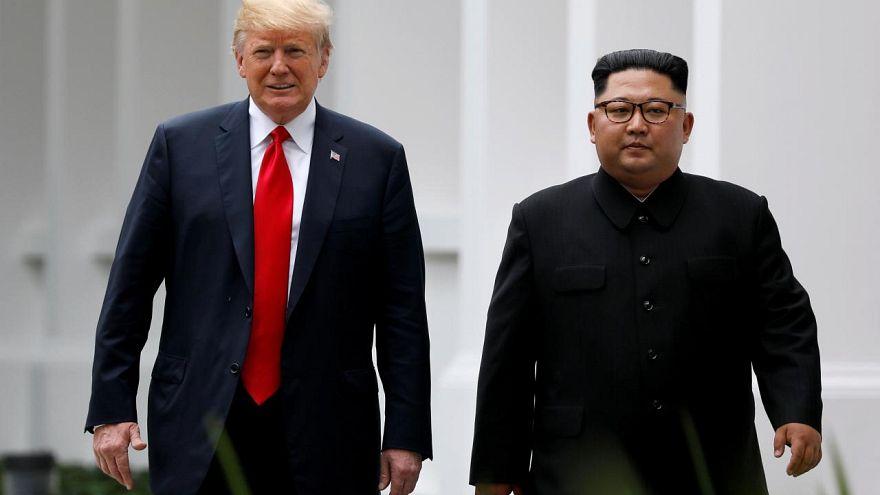 ABD Başkanı Donald Trump, Kuzey Kore lideri Kim Jong Un