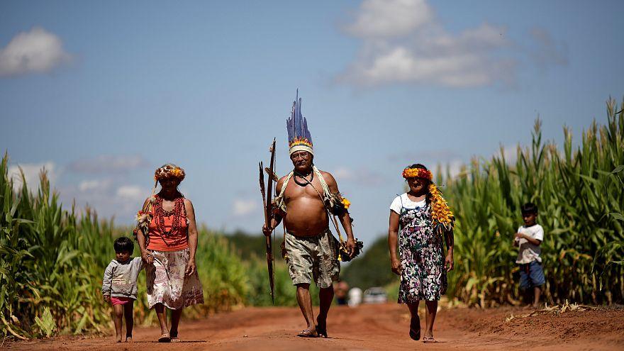 'Yok olmadık': Dünyanın dört bir yanındaki yerli halklar Washington'da buluştu