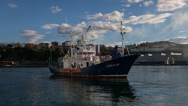 El bloqueo del barco Aita Mari evidencia el giro de política migratoria del Gobierno de España