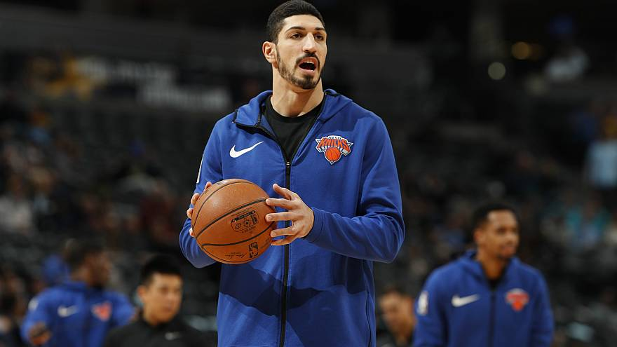 "NBA star Enes Kanter speaks out over ""terrorist"" claims"