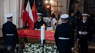La Pologne dit adieu au maire de Gdansk
