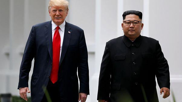 قمة مرتقبة بين ترامب وكيم جونغ أون أواخر الشهر المقبل
