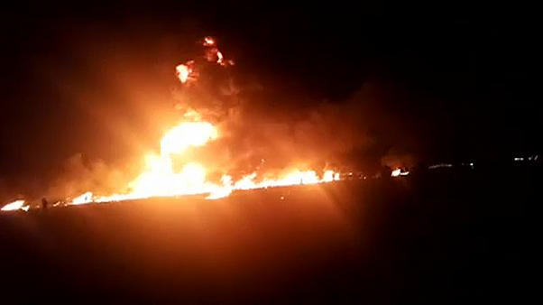 Petrol pipeline thieves cause deadly explosion in Mexico
