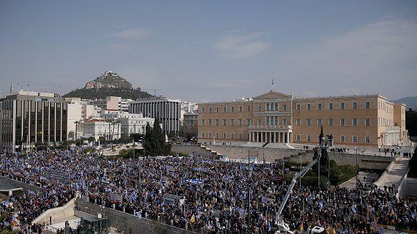 Αντίστροφη μέτρηση για το συλλαλητήριο στην Αθήνα
