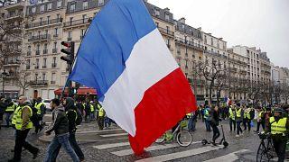 """L'acte 10 des """"gilets jaunes"""" en France"""