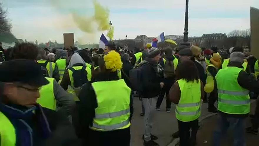"""""""Желтые жилеты"""" - Акт Х"""