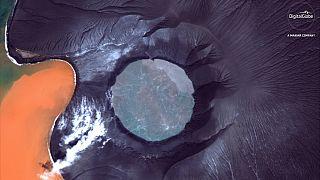 Indonesia: dimezzata l'altezza del Krakatoa