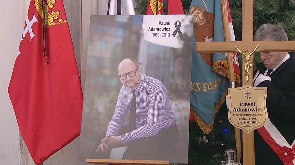 Último adiós a Pawel Adamowicz