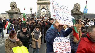 Nueva oleada de protestas contra Orbán