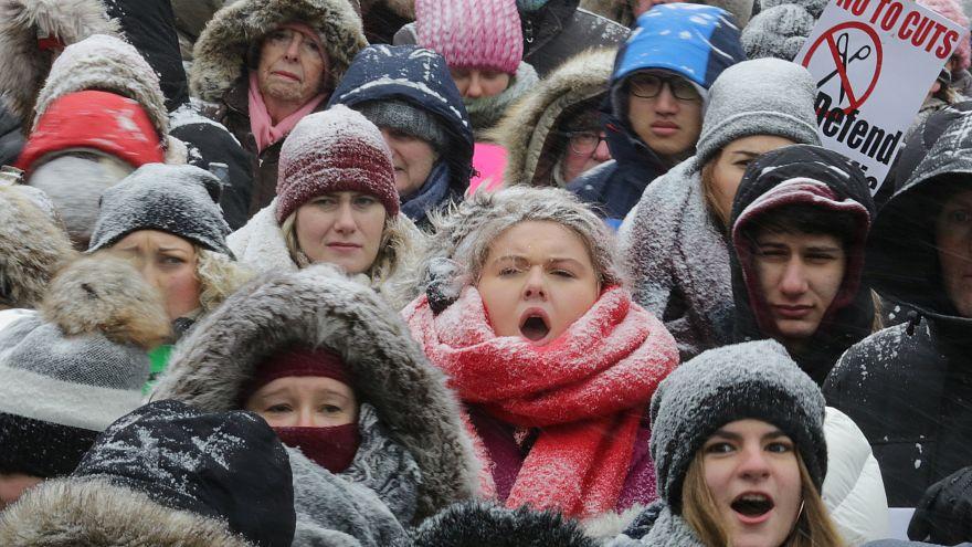 سومین راهپیمایی سراسری زنان جهان برای برخورداری از حقوق برابر