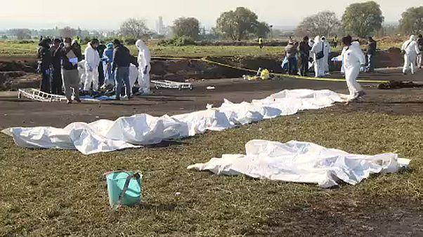 Взрыв на трубопроводе в Мексике: число жертв растет