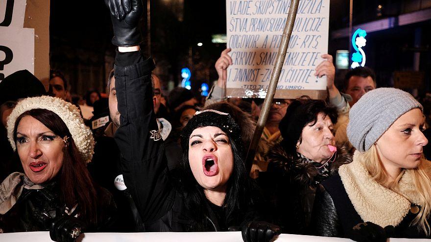 Serbie : nouvelles manifestations anti-Vucic