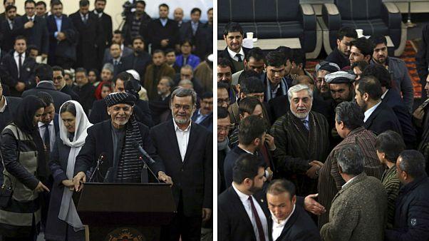 انتخابات ریاست جمهوری افغانستان؛ اشرف غنی و عبدالله عبدالله نامزد شدند