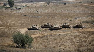 سوريا تتصدى لهجوم إسرائيلي وإسرائيل تسقط صاروخا فوق الجولان