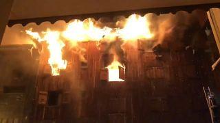 Incendie meurtrier dans un immeuble à Courchevel