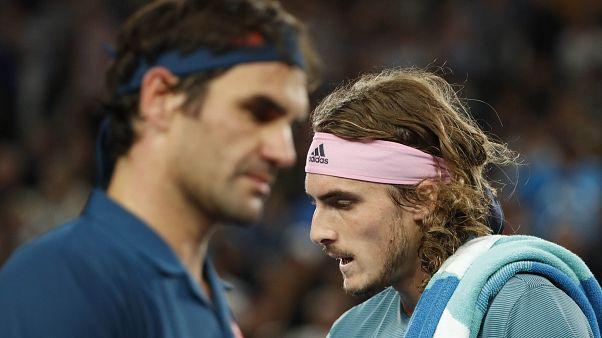 Federer Avustralya Açık'ta Yunanistanlı 'harika çocuğa' yenildi