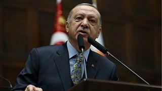 Erdoğan'dan Afrin açıklaması: Saldırılar hiçbir zaman mücadelemizi yıldırmayacak