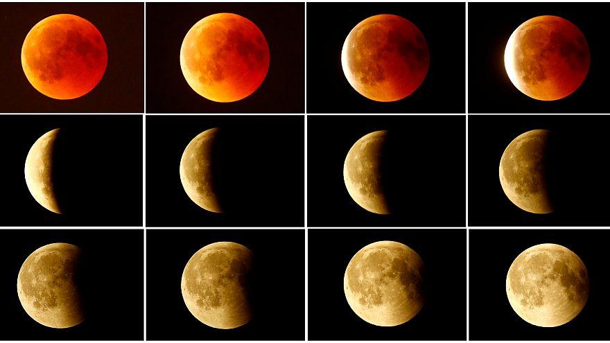 Totale Mondfinsternis an diesem Montagmorgen: Höhepunkt um 6.12 Uhr