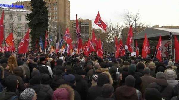 Mosca in piazza per difendere la sovranità delle Isole Curili
