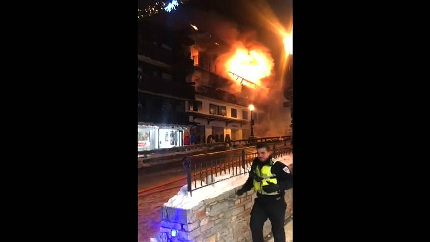 Two die in Courchevel fire