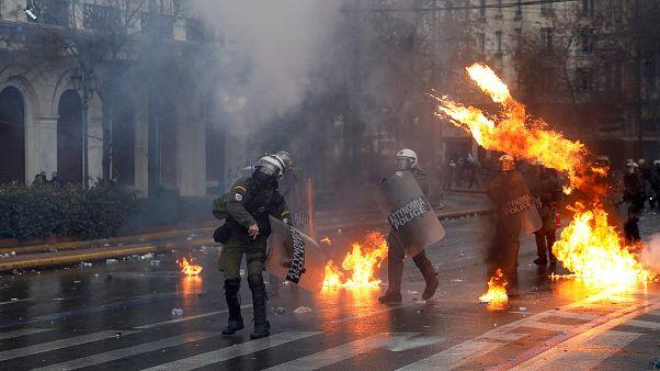 Ανακοίνωση της ΕΛ.ΑΣ. για τα επεισόδια στο συλλαλητήριο