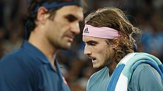 Federer eliminado do Open da Austrália por Tsitsipas