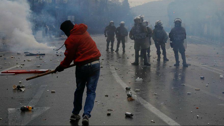توافق بر سر تغییر نام مقدونیه؛ معترضان در آتن تظاهرات کردند