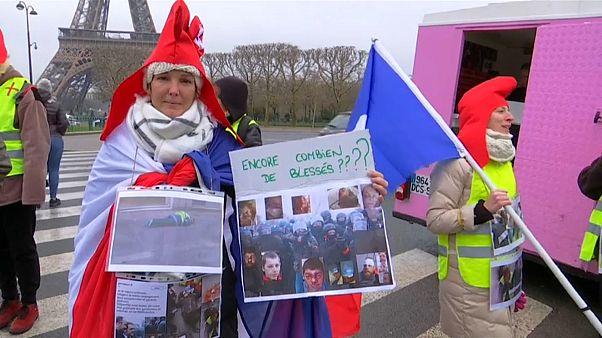 Κίτρινα γιλέκα: Οι γυναίκες πήραν τη σκυτάλη των κινητοποιήσεων