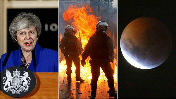 Brexit plan B, super blood wolf moon, and Athens violence | Europe briefing