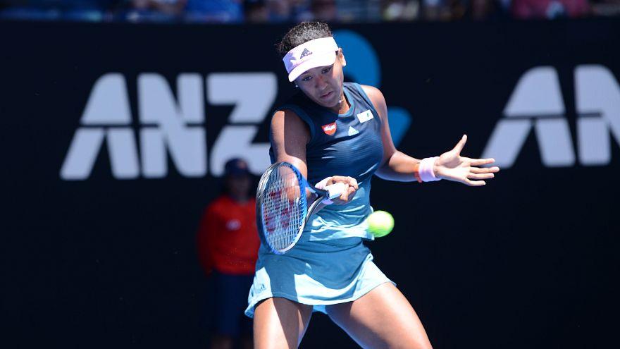 Avustralya Açık'ta Naomi Osaka ve Elina Svitolina çeyrek finalde