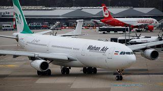 Irans Mahan Air darf nicht mehr nach Deutschland fliegen
