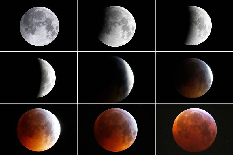 Super Blood Wolf Moon The Best Images As Total Lunar Eclipse Wows