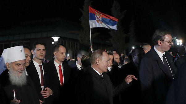 ولادیمیر پوتین در صربستان