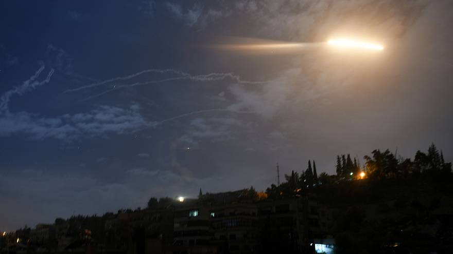 Watch: Israel attacks Iranian targets in Syria — video from both sides