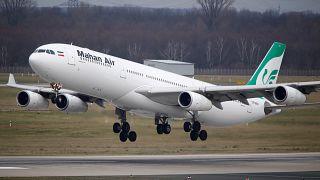 Германия закрыла аэропорты для иранской авиакомпании Mahan Air